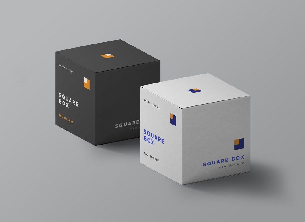 50 Box Mockup For Product Presentation Tinamaze Com
